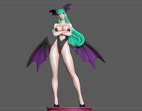 MORRIGAN STATUE PRETTY GIRL CAPCOM 3D print model 1