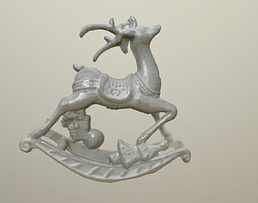 Christmas Reindeer Decoration 3D