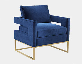 3D model Bevin Accent Chair One Kings Lane