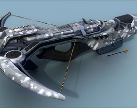 Magbow 3D asset VR / AR ready