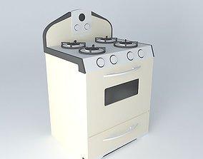 3D Retro Oven