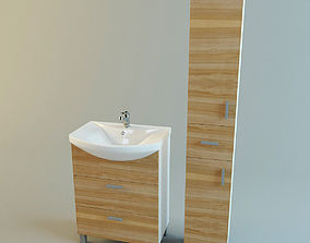 Bathroom vanity set 2 3D