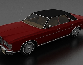 3D model LTD Brougham 4dr 1975
