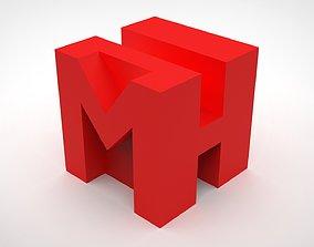 Official MH Tutorials logo 3D Print STL file