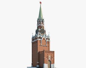 3D Kremlin Clock