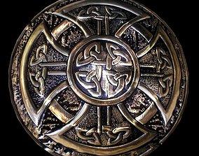 Celtic shield 3D model