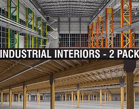 Industrial Interiors 2 Pack 3D model