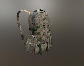 tactical backpack 3D model