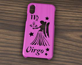 3D CARCASA IPHONE X-XS VIRGO SIGN