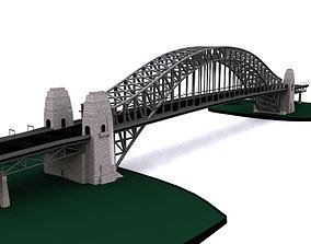 Sydney Harbor Bridge 3D model