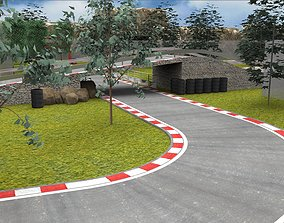 RaceTrack CIRCUIT 3D model