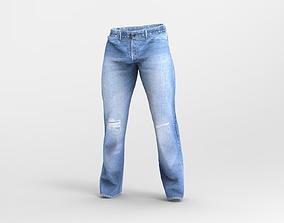 Mens Levi s Jeans with 4k Texture 3D