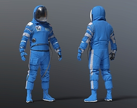 3D model BOEING STARLINER SPACE SUIT