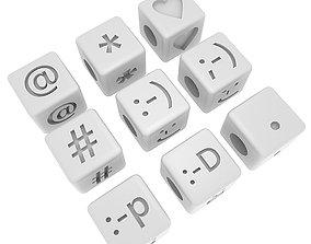 3D print model Letters Bracelet SYMBOLS 01 COLLECTION