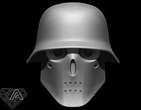 wolfenstein helmet 3D printable model
