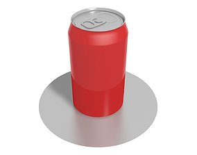 Juice can soda 3D