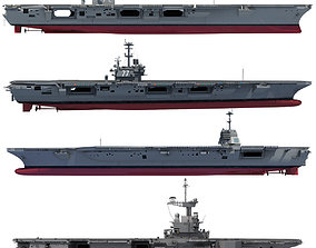 3D Set of Military Carriers