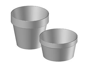 3D print model Classic Plant Pots