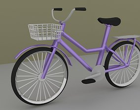 Cycle Low Poly 3D asset
