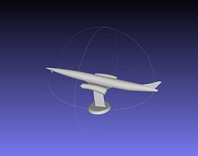 Skylon Spaceplane Printable Model wing