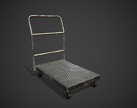 3D asset Platform Hand Trolley
