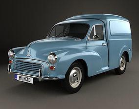 3D Morris Minor Van 1955