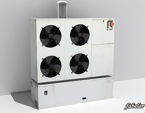 3D model Industrial heat pump