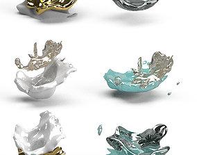 soft FLUID Delicate vortex 3D