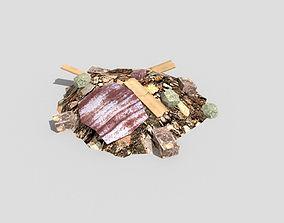 3D asset Debris Pile