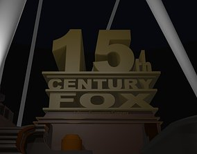 15th century fox logo remake 3D print model