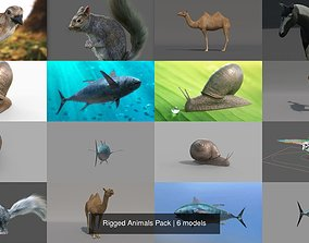 3D Rigged Animals Pack