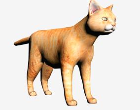 Cat 3D model VR / AR ready