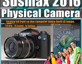 002 3ds max 2016 Physical Camera vol 2 CD