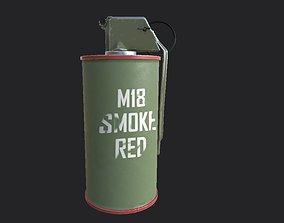 3D model Smoke Bomb
