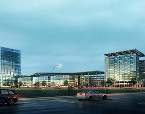 Large Commercial Building 3D model