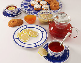 3D Set Tea Party