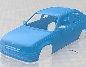 Opel Kadett 3 Door 1991 Printable Body Car