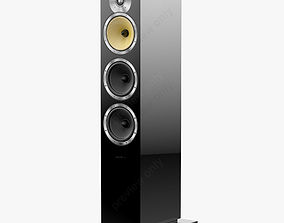 Bowers and Wilkins CM 9 Black Gloss 3D model