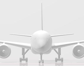 Airbus A350-900 3D printable model