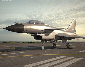 Chengdu J-10 3D