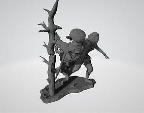 3D print model Kylo Ren on Mustafar Star Wars