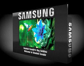3D model SAMSUNG LED UNIT