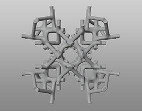 3D printable model Decorative Cobwebbed