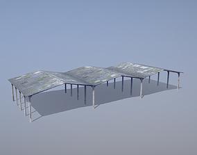 3D model MilitaryBase PortoVelho Hangar 02