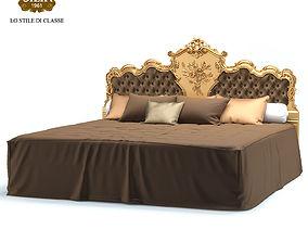 Silik King Size Bed Venere 3D model