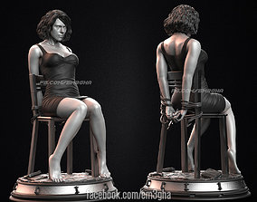 body Black Widow - Interrogation 3D printable model