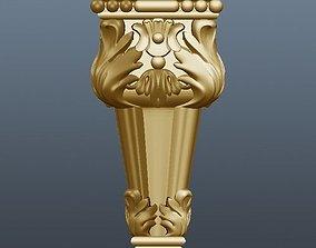 3D print model leg for cnc