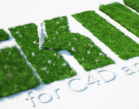 3D Grass Kit III for C4D and Vray 3
