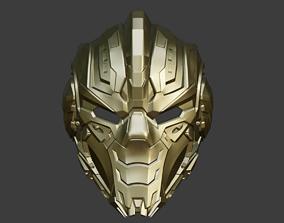 3D printable model Cyrax cyber ninja helmet mask for 5