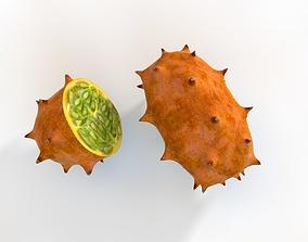 Kiwano Horned melon 3D asset